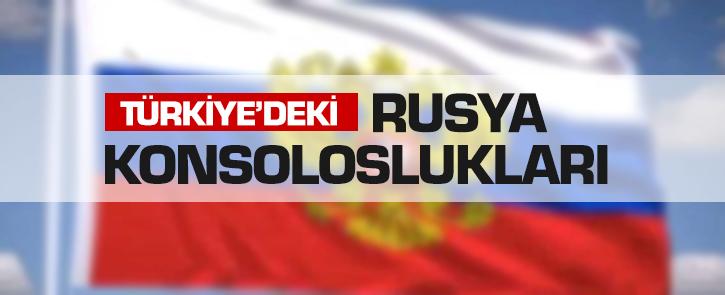Türkiye'deki Rusya Temsilcilikleri