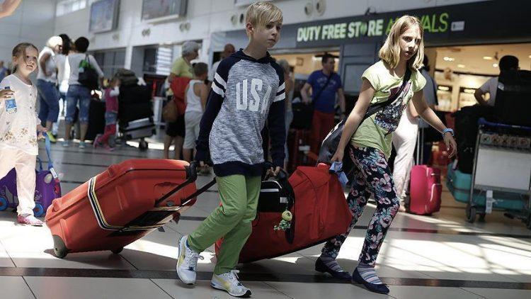 Antalya Rusya'dan gelen turist baharını yaşıyor 2017'de